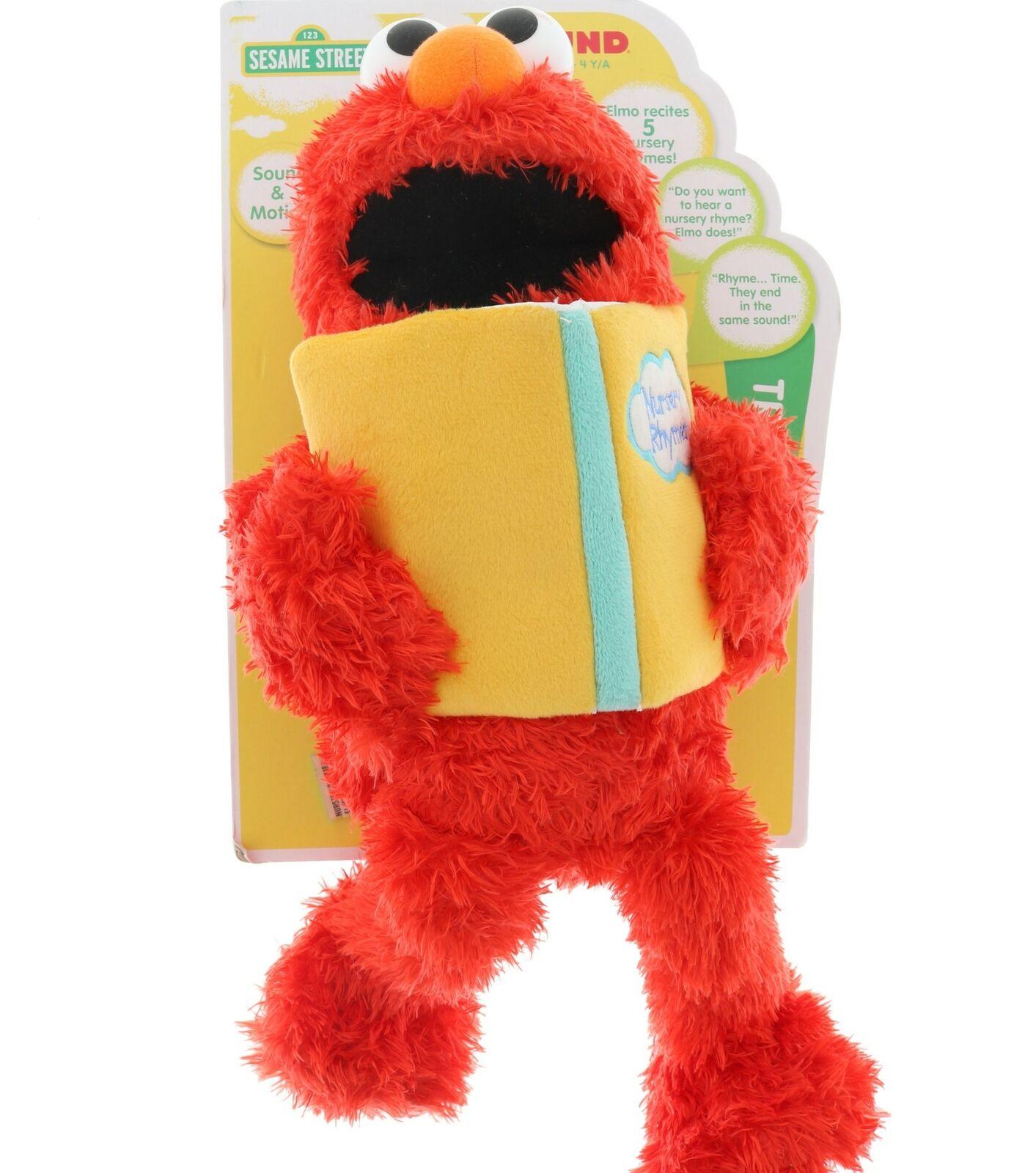 Sesame Street Nursery Rhyme Elmo 15  Plush