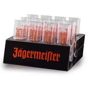 12x-Original-Jaegermeister-Tooter-Kunsstoffglaeser-mit-Halter-Halterung