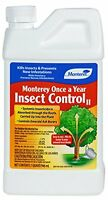 Monterey Once A Year Insect Control, 1-quart, New, Free Shipping on Sale