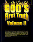 God's First Truth: Volume II by Writers Club Press (Paperback, 2000)