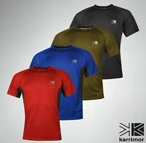 Mens-Karrimor-Short-Sleeve-Tech-T-Shirt-Crew-Neck-Top-Sizes-from-S-to-XXL