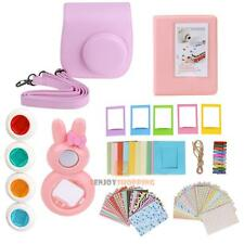 7 in 1 Instant Film Camera Accessories Bundles for Fujifilm Instax Mini 8 Pink