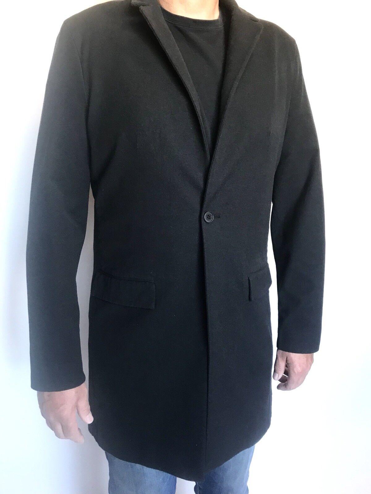 AllSaints Carti Coat. Charcoal Grau Retail 540 Price 220 36 S NWT