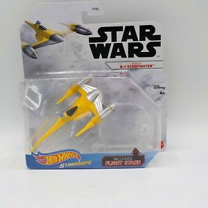 Hot Wheels Star Wars Starships - NABOO N-1 STARFIGHTER VHTF Disney Mattel NIP