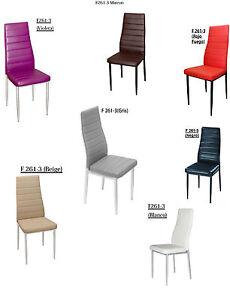 Sillas de comedor ¡Oferta!Precio anterior: 65€!!!varias colores. | eBay