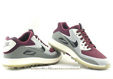Nike Air Zoom 90 IT Golf - SIZE 7 - 844569-600 Rory McIlroy Spikes Maroon Grey