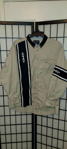 Vintage Mens Wrangler Western Long Sleeve Shirt XL