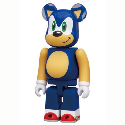 Medicom Bearbrick S23 Hero 23 be@rbrick 100/% Saga Sonic The Hedgehog