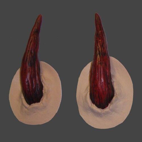 Satanic Horn Prosthetics for fancydress, LRP, LARP