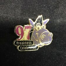 1997 Pimlico Baltimore Maryland Preakness Celebration Rare Horse Racing Pin