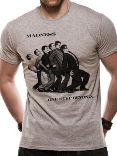 Licencia Oficial-Locura-un paso más allá Camiseta Ska Pop Suggs de dos tonos