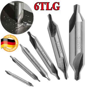 10 Stk HSS 2.5mm Zentrierbohrer Bohrer Bohrer Center Drill Senker 60 Degrees
