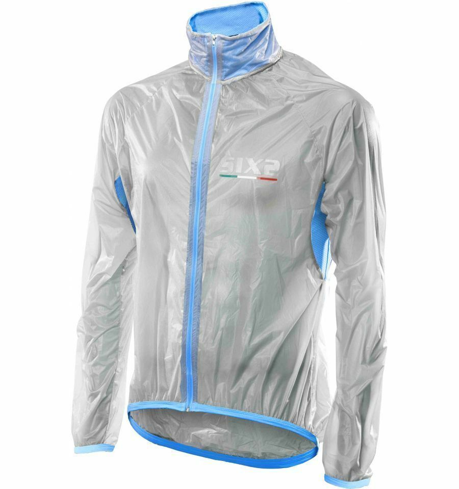 Cape SIX2 Mant W Transparent Light Blau Manty SIX2 Mant W Clear Light
