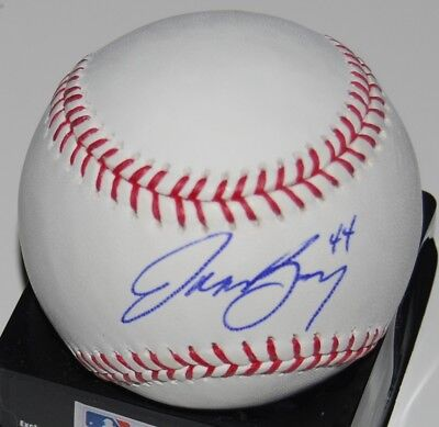 2004 Nl Rookie Of The Year Enthusiastic Jason Bay Signed Major League Baseball Roy W/coa