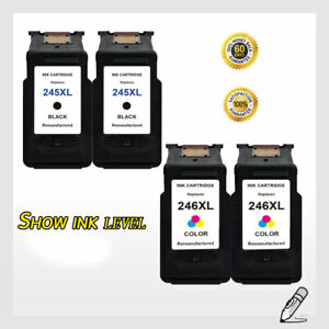 4-PK-PG-245XL-CL-246XL-Ink-Cartridge-Combo-Set-For-Canon-PIXMA-MG2920-MG2924