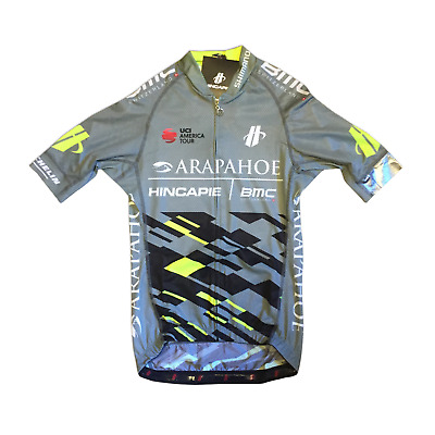Black Men/'s 2018 Hincapie Racing Team Max SS Cycling Jersey Size Small EUC
