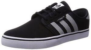 b301594748f Adidas SEELEY WOVEN Black White Black S85675 (328) Skateboarding ...
