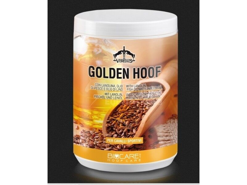Veredus Bio Care goldEN HOOF Ointment Grease Lanolin Fish Oil Stimulates Growth