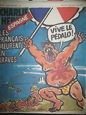 CHARLIE HEBDO N° 451 FRANCAIS EN ESPAGNE DESSINS SATIRIQUES COUV PAR CABU 1979