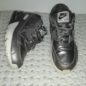 Details about Nike Air Max 90 LTR SE GG GS Kids Youth sneaker Shoes Pewter 897987-005 Size 5.5