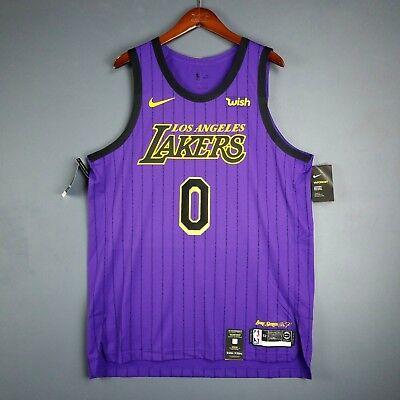 wholesale dealer c6a11 255d1 100% Authentic Kyle Kuzma Nike Lakers City Jersey Size 52 XL Mens - lebron  james | eBay