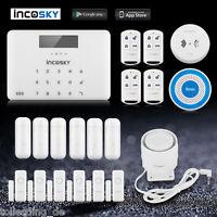 Gsm Wireless Home Security Autodial Burglar House Alarm System Detector Sensor