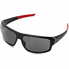TAG Heuer Mens Racer 2 9223 901 Matte Black Sport Polarized Grey Lens Sunglasses