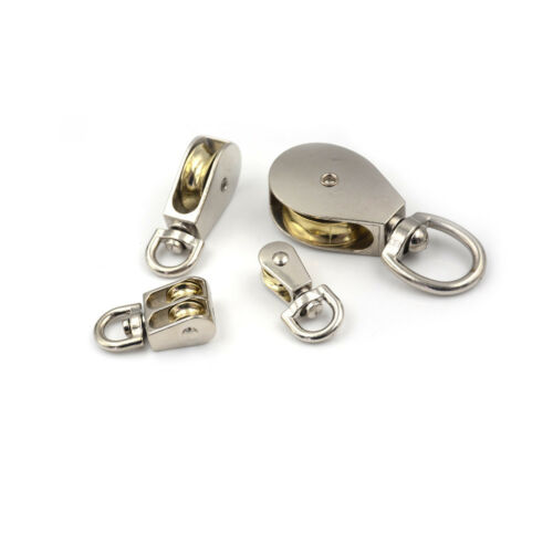 High Quantity Small Zinc Alloy Fixed Pulley for DIY Model Making CF