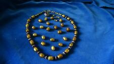 ancient beads of Asia    37 golden beads 18 ancient Thai silver beads, stunning