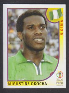 Panini - Korea Japan 2002 World Cup - # 414 Augustine Okocha - Nigeria
