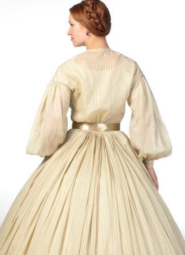 B5831 Sewing Pattern Civil War Era 1860 Gone with the Wind Movie Melanie