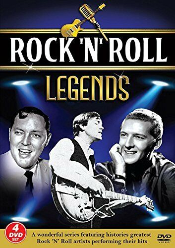 Rock N Roll Legends [4 DVD SET] Jerry Lee Lewis,Bobby Vee  Many many more