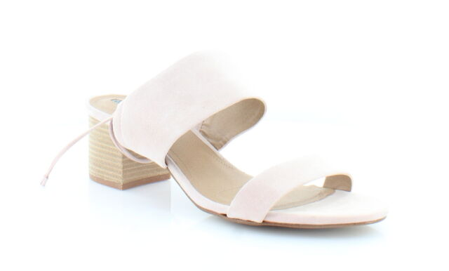 cc39988508a5 Tahari Doe Heeled Tie up Sandals 569 Ballet Pink 8 US for sale ...