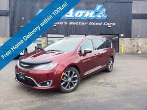 2017 Chrysler Pacifica Limited, Leather, DVD, Navigation, Tow Pkg, Panoramic Sunroof & Much More!