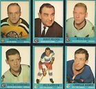 1962-1963 Topps Lebrun #50 Hockey Card