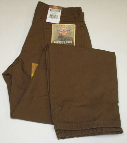 DICKIES 1939RTB CARPENTER DUCK TIMBER JEANS 34 X 30