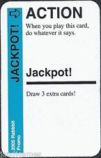 """FLUXX CARD GAME """"Jackpot"""" promo card Looney Labs NEW"""