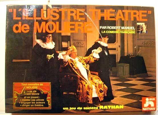 JEU DE PLATEAU - L' Illustre Theatre De Molière - NATHAN