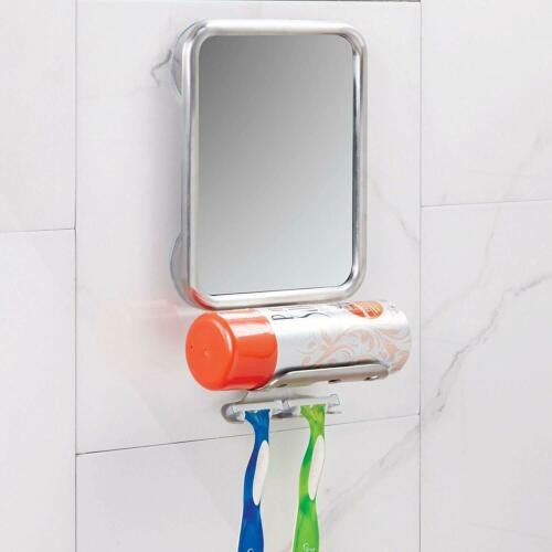 Interdesign Forma Suction Bathroom Or Shower Shaving Mirror With Shaving Cream A