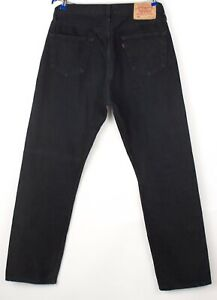 Levi's Strauss & Co Hommes 501 Vintage Jeans Jambe Droite Taille W36 L32 BCZ513