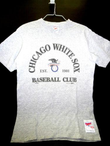 Vintage CHICAGO WHITE SOX BASEBALL CLUB Shirt 1983 (Size L) Nutmeg Mills CCM