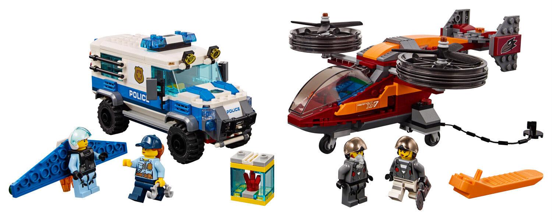 LEGO City Polizei 60209 Diamantenraub Sky Police Diamond Heist Heist Heist N1 19 49e927