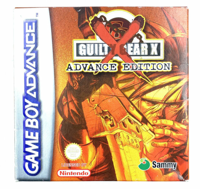 Guilty Gear X Advance Edition - Jeu Nintendo Game Boy Advance - Complet PAL EUR