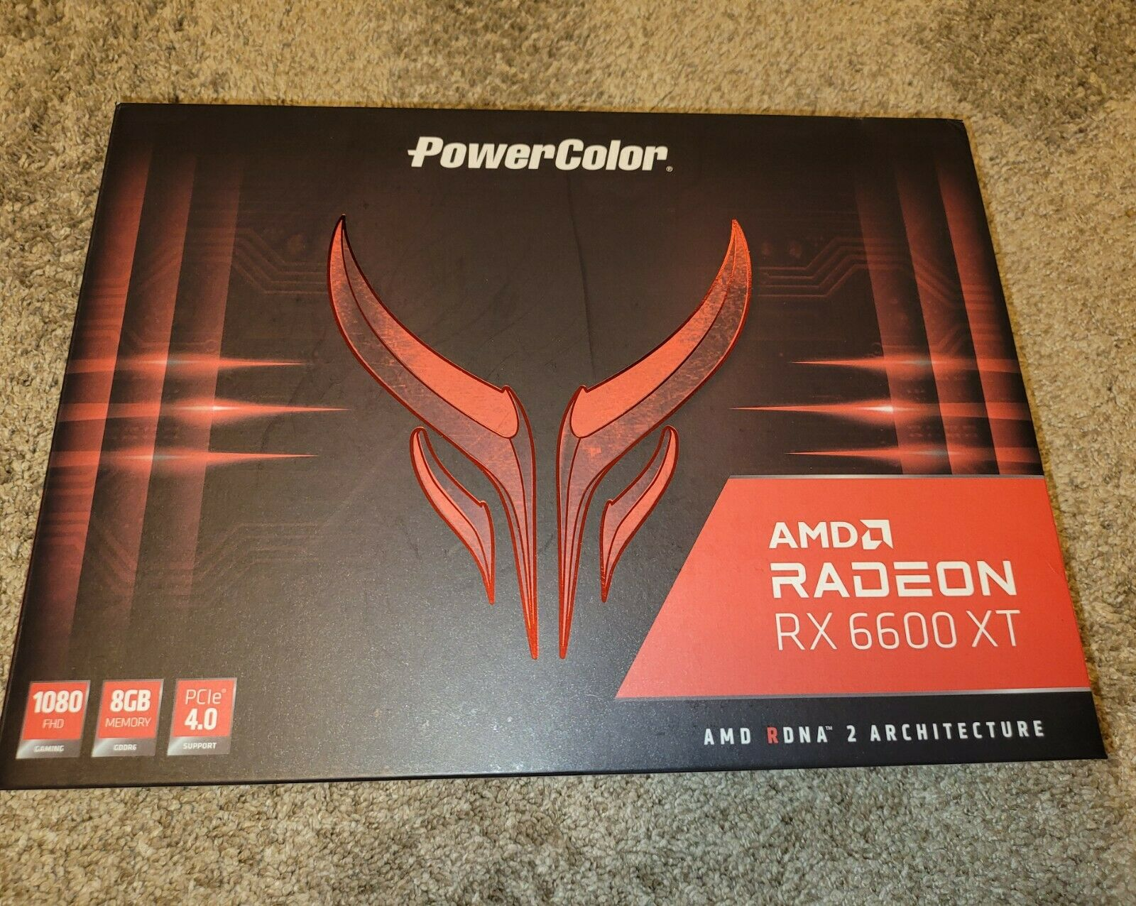 PowerColor Red Devil AMD Radeon RX 6600 XT Gaming Graphic Card NON LHR
