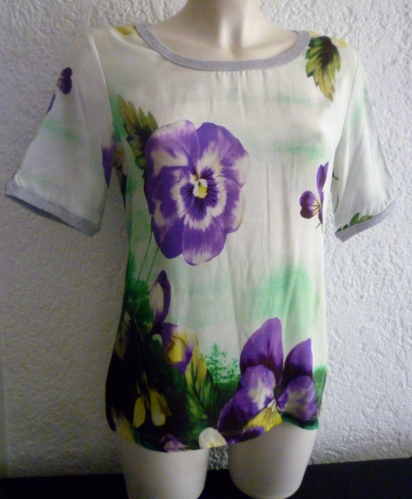 NEU  Super Shirt von NC NICE CONNECTION - Seide Baumwolle Gr. 40