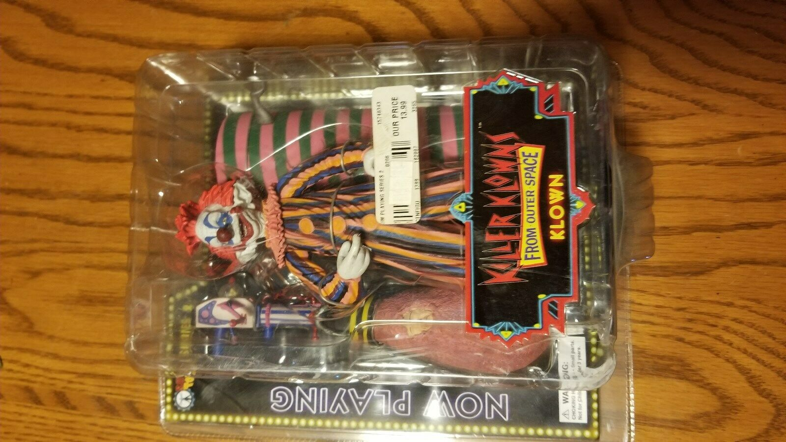 SOTA TOYS KILLER KLOWNS FROM OUTER SPACE ACTION FIGURES Series 2 NOS
