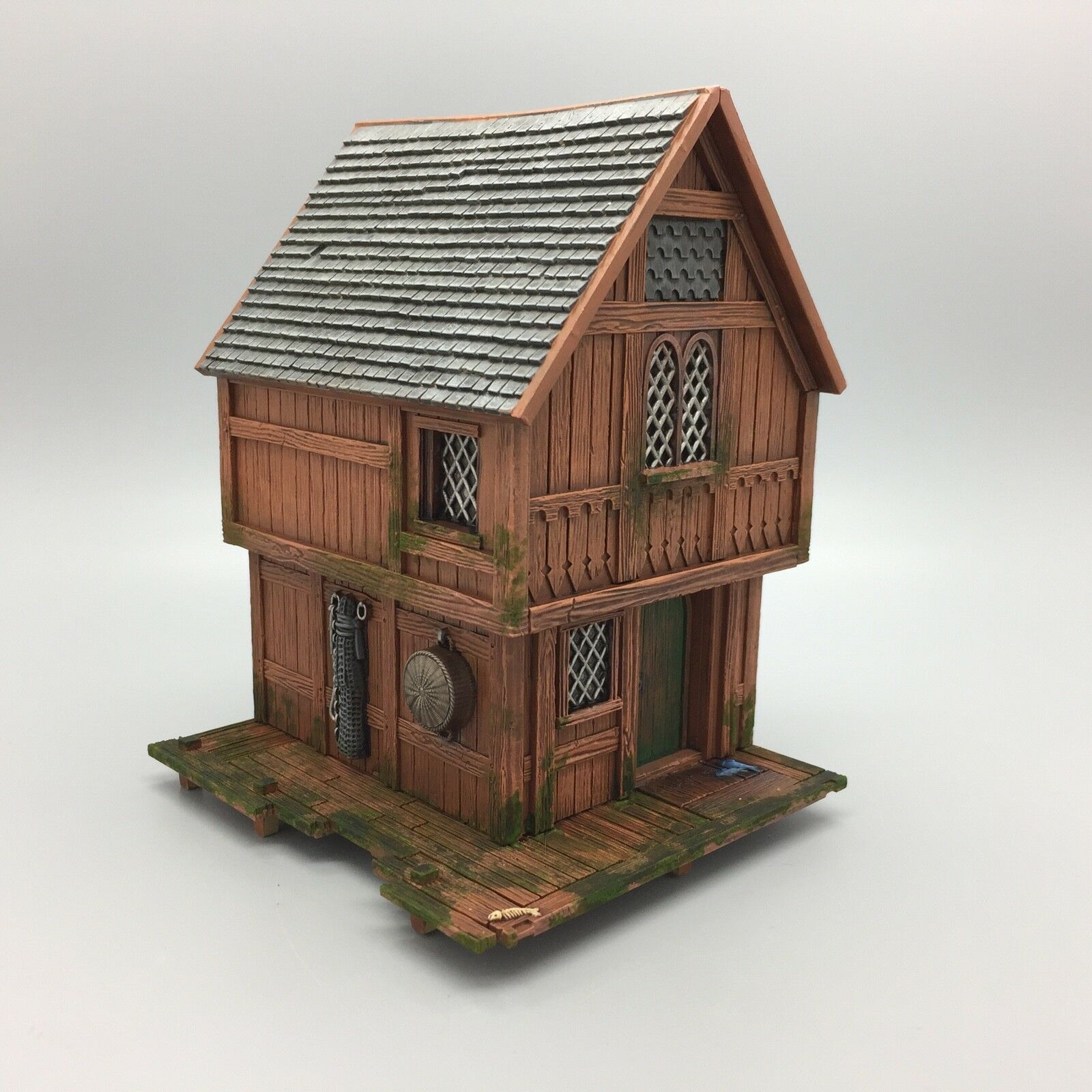 WARHAMMER LORD OF THE RINGS THE HOBBIT LAKE TOWN HOUSE HOUSE HOUSE COTTAGE TERRAIN PAINTED 3969d7