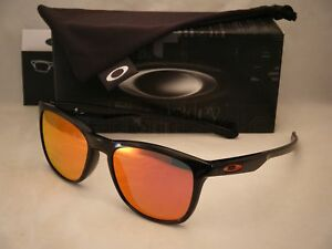 fbeff20e4 Oakley Trillbe X Polished Black w Ruby Iridium Lens (oo9340-02 ...