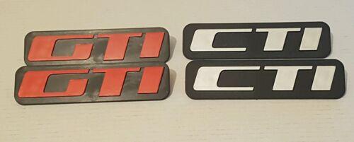 New Reproduction Peugeot 205 Gti Cti Mud flap Badges