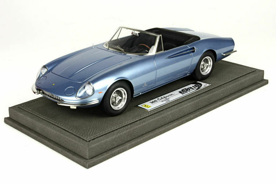para proporcionarle una compra en línea agradable Ferrari 365 California light metal metal metal azul-Limited Edition 200pcs-bbr1814c BBR  precios razonables